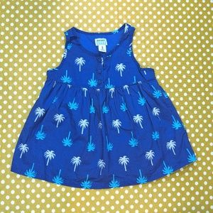 Old Navy top with palm trees - 2T